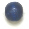 Wooden Bead Round 8mm Blue